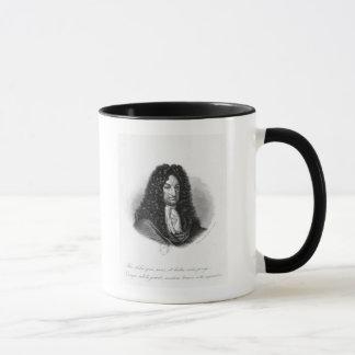 ゴットフリードウィルヘルムの男爵de Leibnizポートレート マグカップ