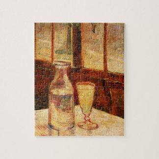ゴッホのアブサンのヴィンテージの印象主義の静物画 ジグソーパズル