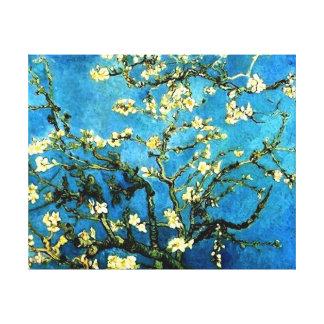 ゴッホのアーモンド木の花のキャンバス キャンバスプリント