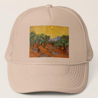 ゴッホのオリーブの帽子 キャップ