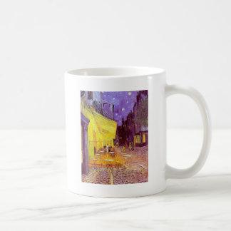 ゴッホのカフェの印象派の絵画 コーヒーマグカップ