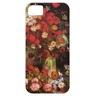 ゴッホのケシ、シャクヤクおよび菊 iPhone SE/5/5s ケース