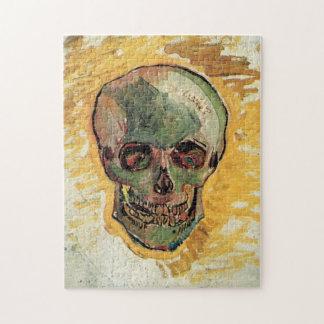 ゴッホのスカル、ヴィンテージの静物画の印象主義 ジグソーパズル
