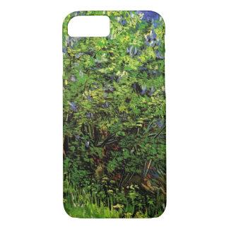 ゴッホのライラック、ヴィンテージの花、花のファインアート iPhone 8/7ケース