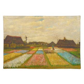 ゴッホのランチョンマットによるオランダの花壇 ランチョンマット