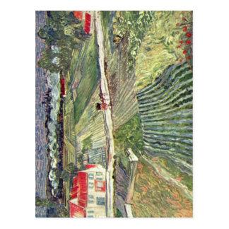 ゴッホのヴィンチェンツォウィレムvan Landschaftのbei Auvers im ポストカード
