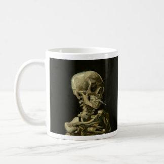 ゴッホの喫煙の骨組コーヒー・マグ コーヒーマグカップ