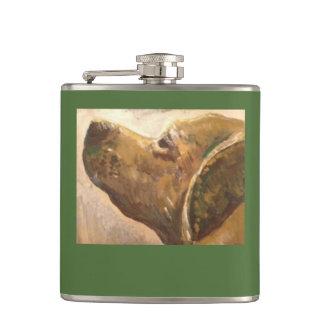 ゴッホの実験室犬の絵画 フラスク