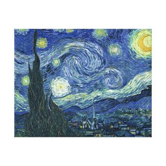 ゴッホの星明かりの夜キャンバスプリント キャンバスプリント