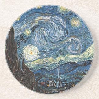 ゴッホの星明かりの夜 コースター