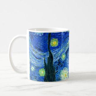 ゴッホの星明かりの夜 コーヒーマグカップ