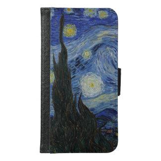 ゴッホの星明かりの夜 GALAXY S6 ウォレットケース