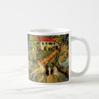 ゴッホの村の通り、ステップ、Auvers w 2は計算します コーヒーマグカップ