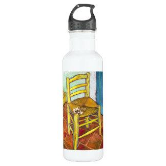 ゴッホの椅子のフィンセント・ファン・ゴッホの芸術 ウォーターボトル