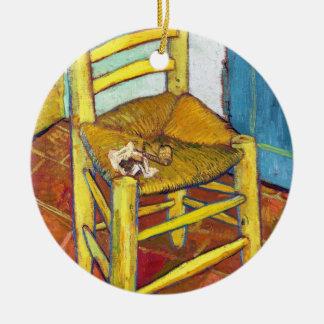 ゴッホの椅子のフィンセント・ファン・ゴッホの芸術 セラミックオーナメント
