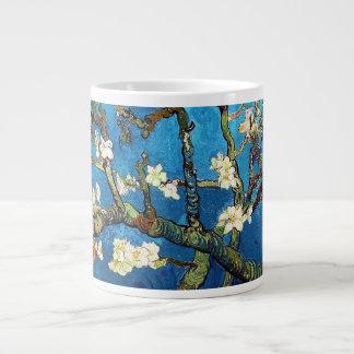 ゴッホの活気付くアーモンド木のファインアート ジャンボコーヒーマグカップ
