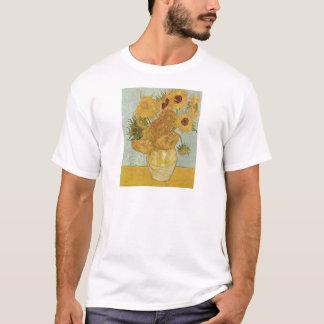ゴッホの絵画: ゴッホのヒマワリ Tシャツ