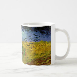 ゴッホの絵画: ゴッホの小麦畑 コーヒーマグカップ