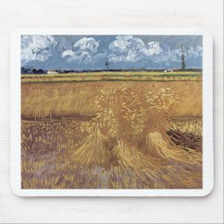ゴッホの絵画: ゴッホの小麦畑 マウスパッド