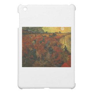 ゴッホの絵画: 赤いブドウ園 iPad MINIケース