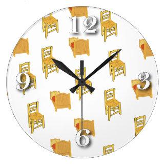 ゴッホの絵 ラージ壁時計