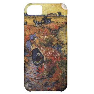 ゴッホの赤のブドウ園 iPhone5Cケース