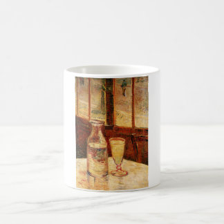 ゴッホの「アブサンおよびCarafe」のマグのガラス コーヒーマグカップ