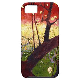 ゴッホのHiroshigeの後の花盛りのスモモの木 iPhone SE/5/5s ケース