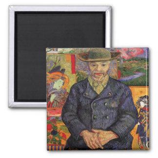 ゴッホのPèreタンギーのヴィンテージの芸術のポートレート 磁石