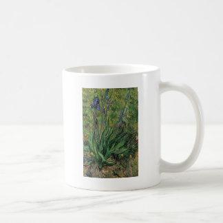 ゴッホアイリスヴィンテージのポストの印象派 コーヒーマグカップ