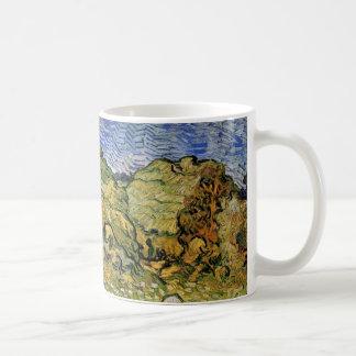 ゴッホ分野wのムギの積み重ね、ヴィンテージのファインアート コーヒーマグカップ