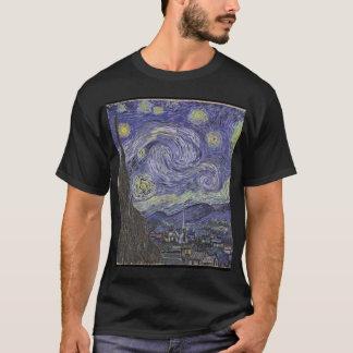 ゴッホ星明かりの夜 Tシャツ