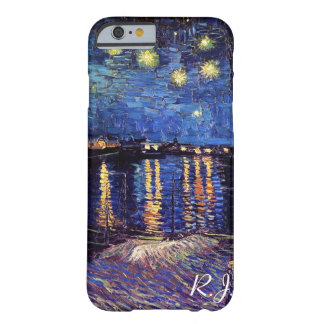 ゴッホ著ローヌ上の星明かりの夜 BARELY THERE iPhone 6 ケース