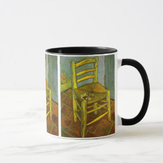ゴッホ著彼の管が付いているヴィンチェンツォの椅子 マグカップ