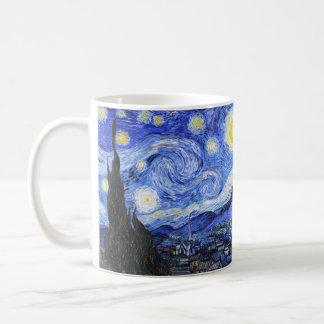 ゴッホ著星明かりの夜 コーヒーマグカップ