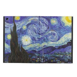 ゴッホ著星明かりの夜 iPad AIRケース