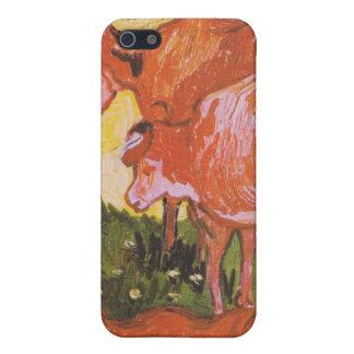 ゴッホ著牛(Jordaensの後で) iPhone 5 Case