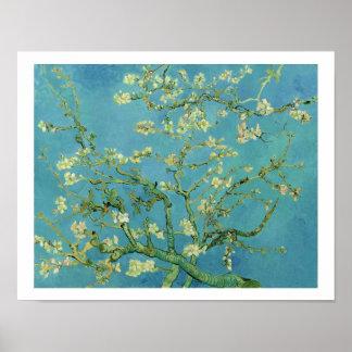 ゴッホ|のアーモンドの花| 1890年 ポスター