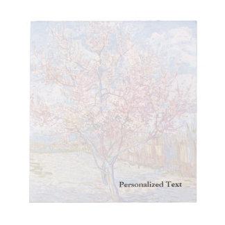 ゴッホ|の花盛りのモモ木| 1888年 ノートパッド