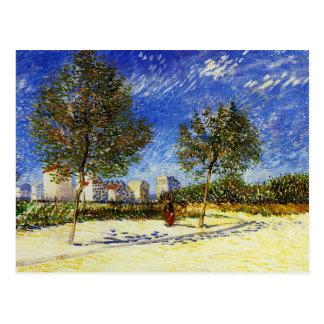 ゴッホ-パリの郊外 ポストカード