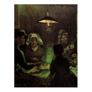 ゴッホ; ポテトの食べる人、ヴィンテージの印象主義 ポストカード