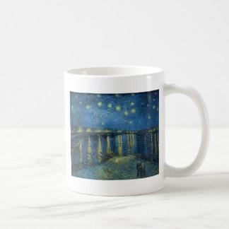 ゴッホ: ローヌ上の星明かりの夜 コーヒーマグカップ
