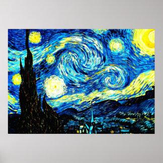 ゴッホ: 星明かりの夜 ポスター