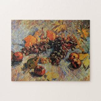 ゴッホ; 静物画のりんご、ナシ、レモン、ブドウ ジグソーパズル