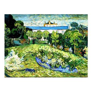 ゴッホ- Daubignyの庭 はがき