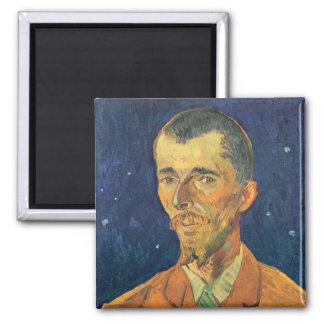 ゴッホ; Eugene Bochのヴィンテージの芸術のポートレート マグネット