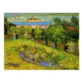 ゴッホDaubignyの庭、Le Jardinのファインアート ポストカード