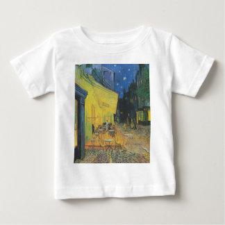 ゴッホTerrasse des Cafés der Place du Foru ベビーTシャツ