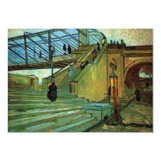 ゴッホTrinquetaille橋、ヴィンテージのファインアート カード
