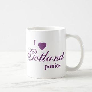 ゴトランドの子馬 コーヒーマグカップ